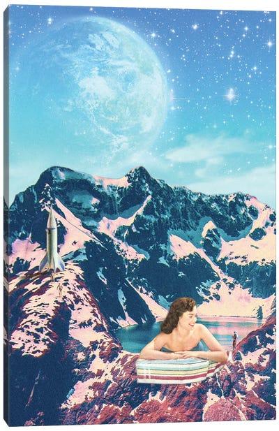 MOUNTAIN BATH Canvas Art Print