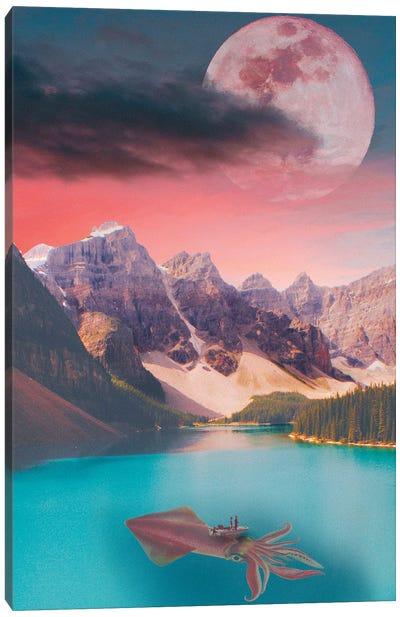 In The Deep Canvas Art Print