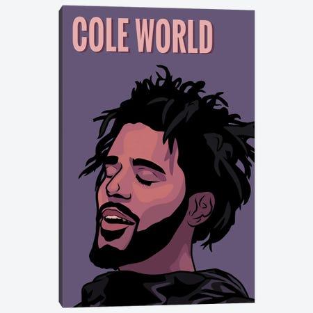 Cole World Canvas Print #ZZD36} by Zozi Designs Canvas Print