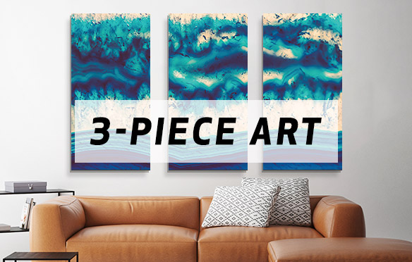 3-Piece Wall Art Canvas Artwork