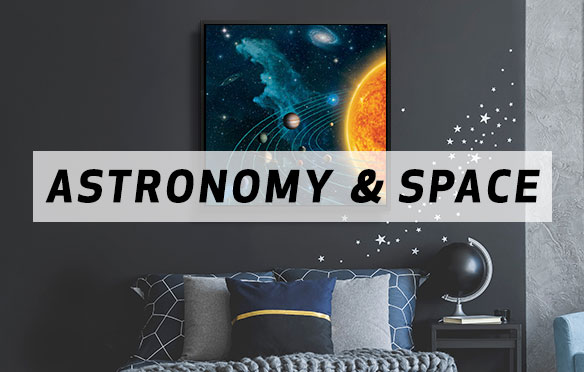 From Our Solar System and Beyond Canvas Art Prints