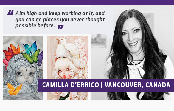 More About Camilla Canvas Art