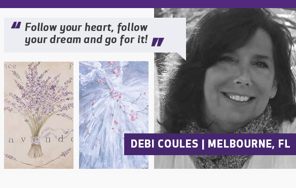 More About Debi Canvas Art