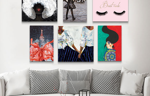 Empowered Women Collection Canvas Art Prints