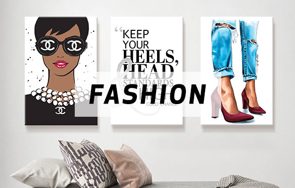 For The Fashionista Canvas Art