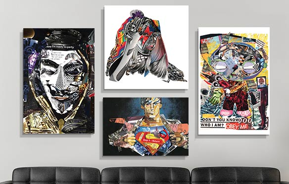 Trending New Artist: Glil Canvas Prints