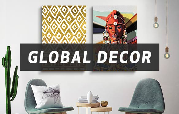 Global Decor Canvas Artwork
