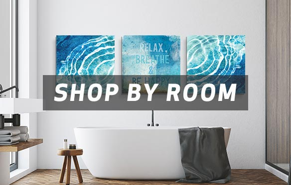 Bathrooms to Living Rooms Art Prints