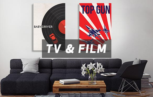 Grab Some Popcorn & Sit Back Canvas Art