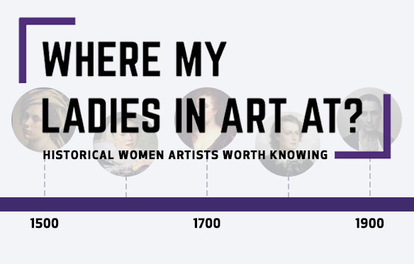 17 women who changed the art world Canvas Artwork