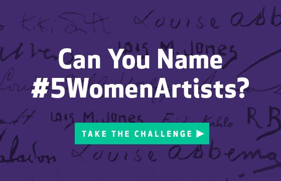 #5WomenArtists Challenge