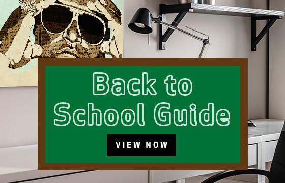 Back to School Dorm Shopping Guide