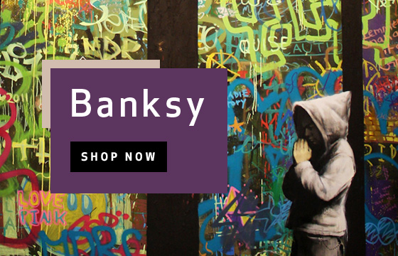Banksy - World Renowned Street Artist