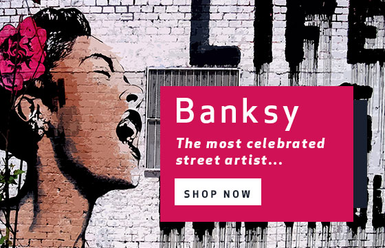 Banksy - The most celebrated street artist in history...