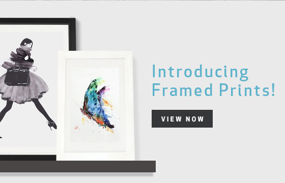 Announcing Framed Prints!