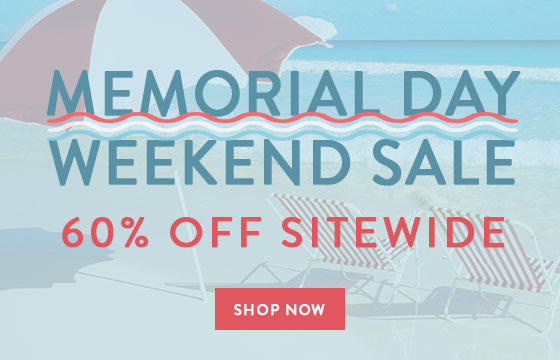 Memorial Day Weekend Sale