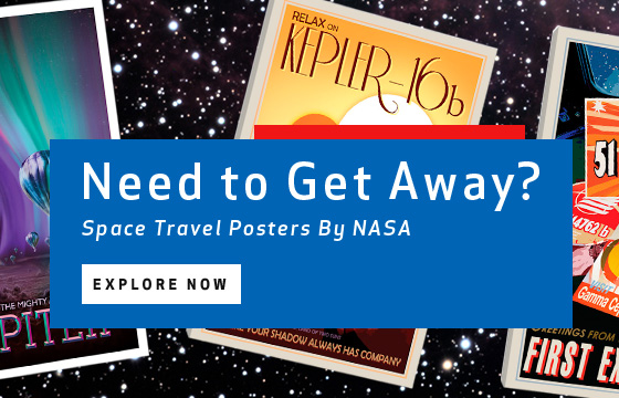 Space Travel Posters by NASA