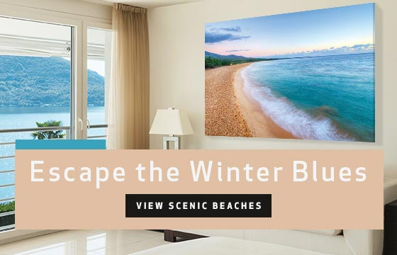 Scenic Beaches: Escape the Winter Blues