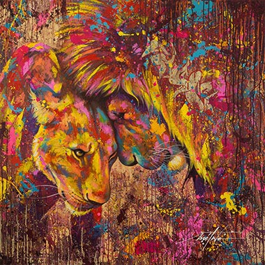 Animal Art Canvas Prints