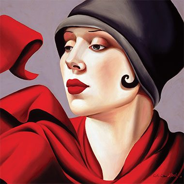 Catherine Abel Canvas Artwork