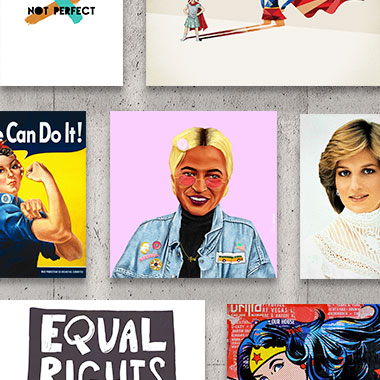 Collection: Empowered Women Canvas Art Prints
