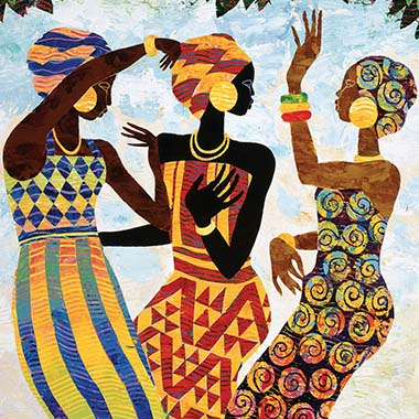 Keith Mallett Canvas Artwork
