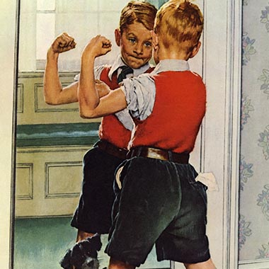 Norman Rockwell Canvas Prints