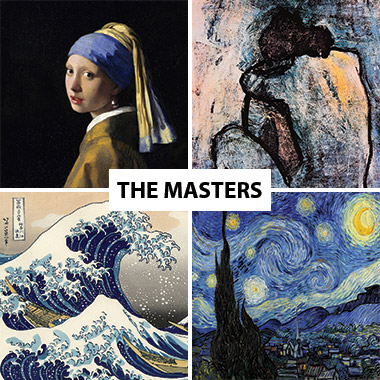 Classic Artists Canvas Prints