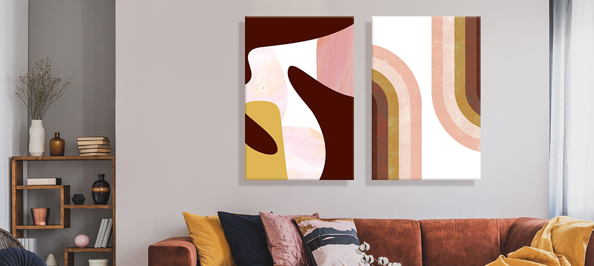 Adobe Abstracts Canvas Art