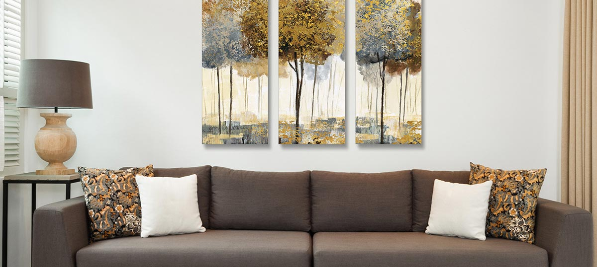 3-Piece Decorative Canvas Art Prints