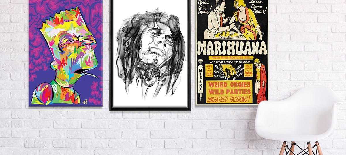 420 Collection Canvas Art