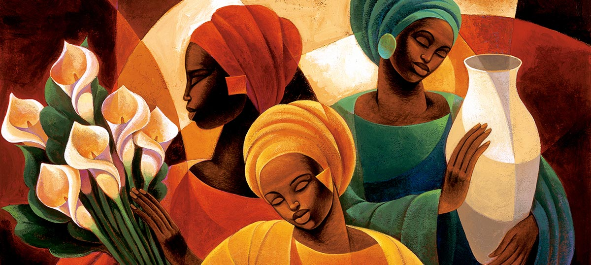 African Heritage Canvas Wall Art