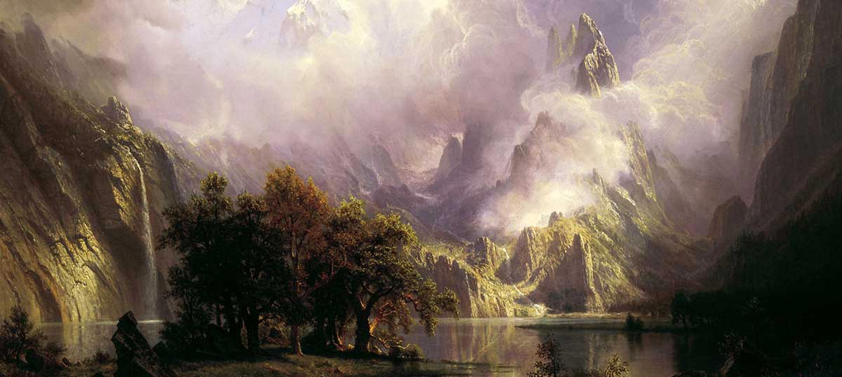 Albert Bierstadt Canvas Wall Art