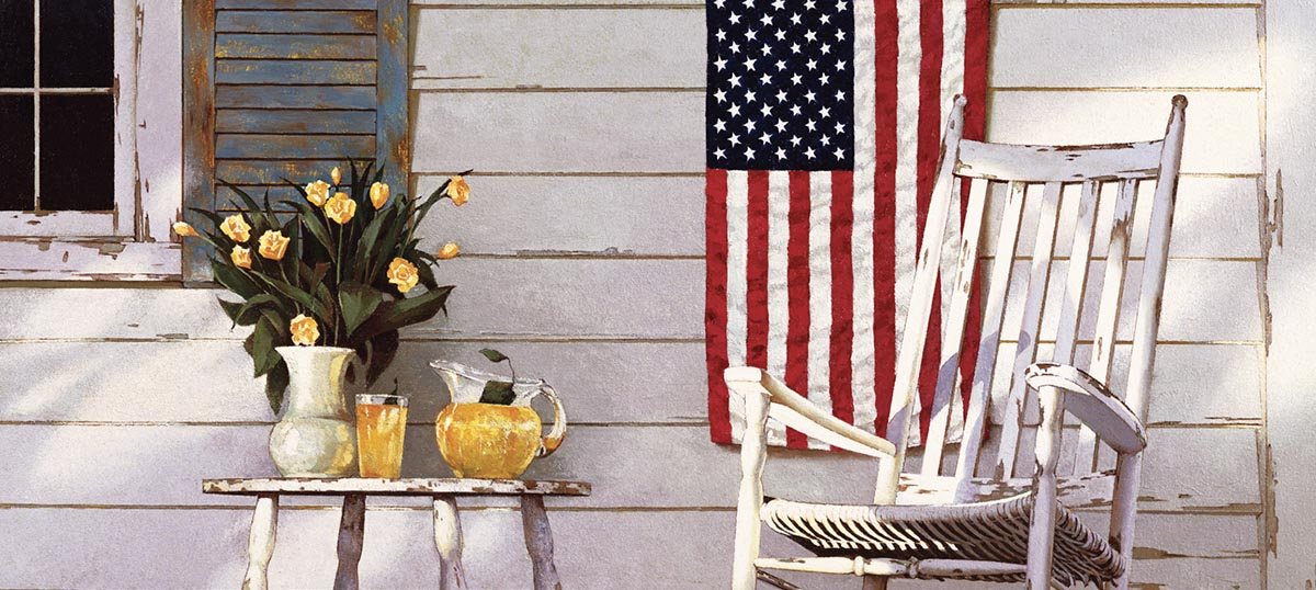 American Décor Canvas Art