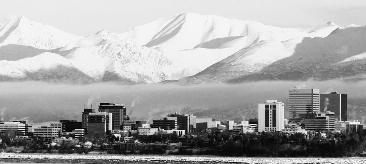 Anchorage Canvas Prints