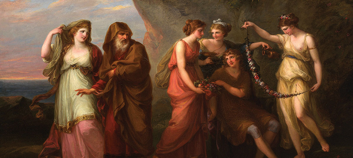 Angelica Kauffmann Canvas Art