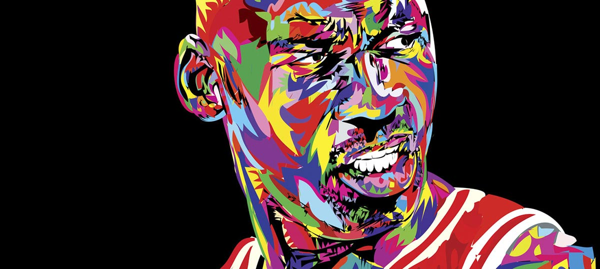 Michael Jordan Canvas Artwork
