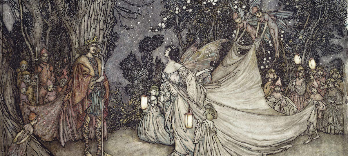 Arthur Rackham Canvas Art Prints
