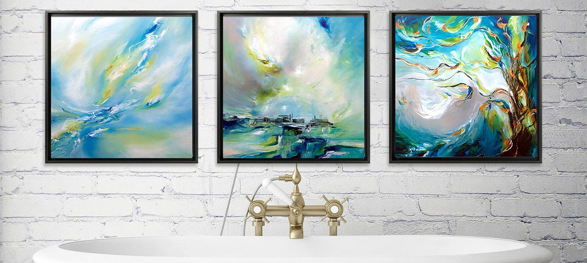 Bathroom Canvas Wall Art