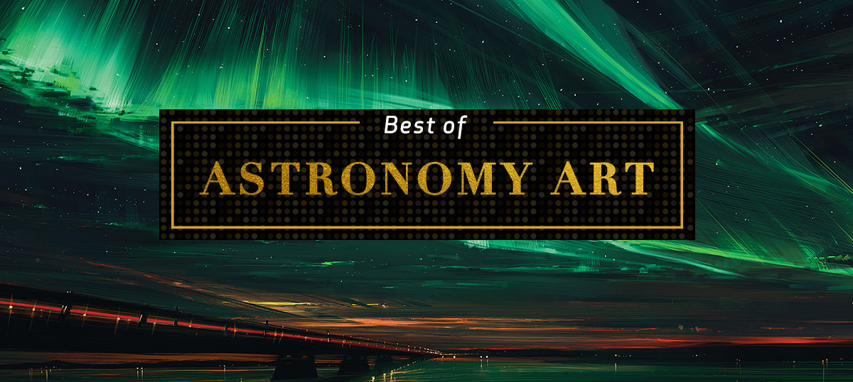 Best of Astronomy Canvas Art Prints