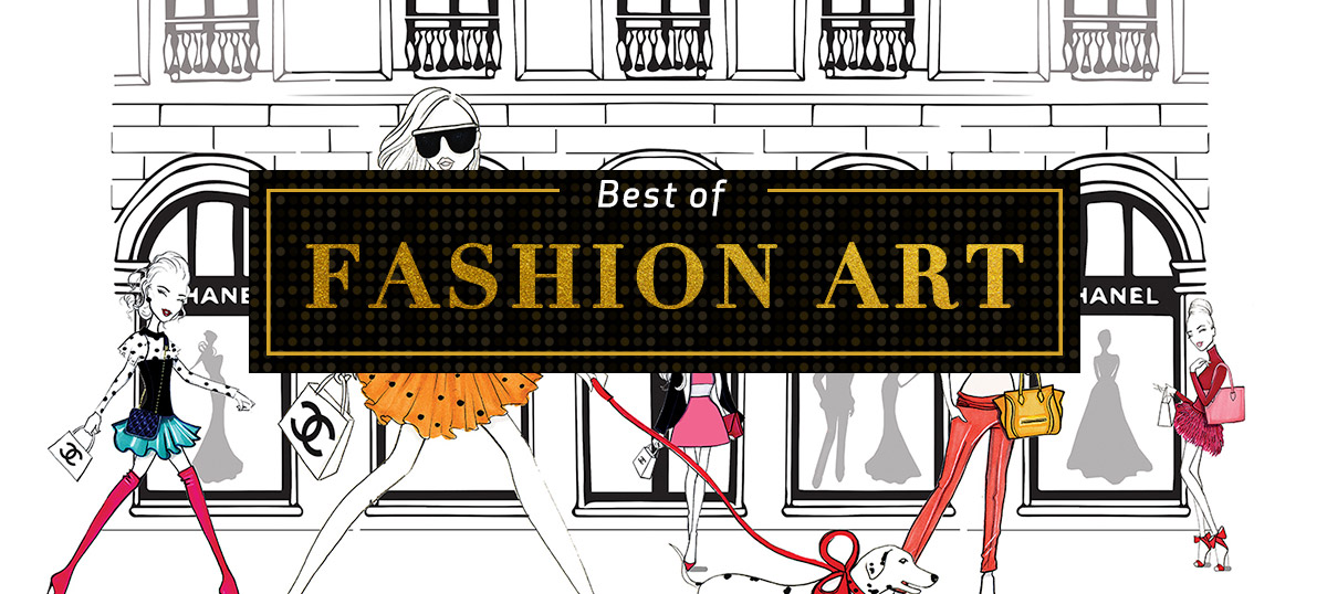 Best of Fashion Art Canvas Wall Art