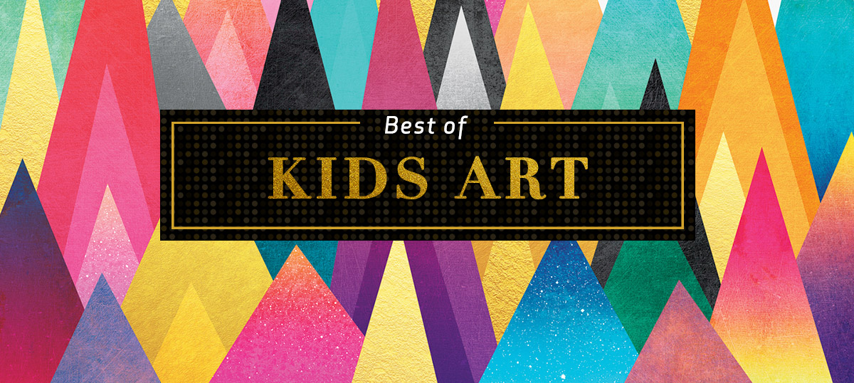 Best of Kids Art Canvas Art Prints