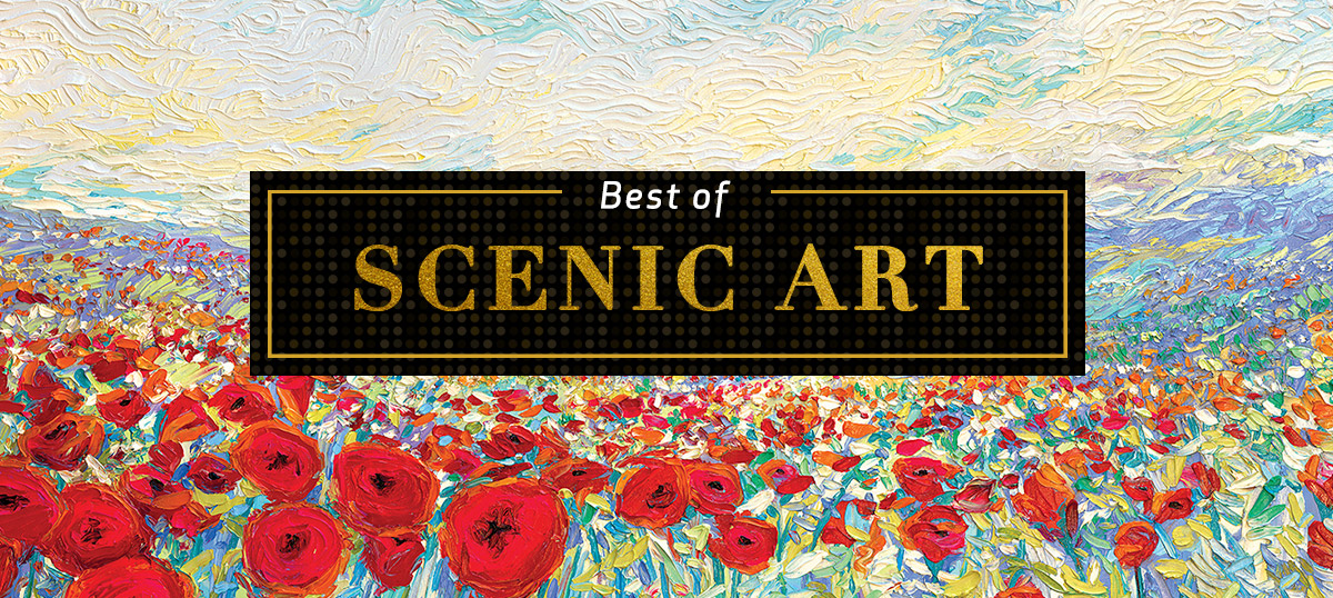 Best of Scenic Art Canvas Prints