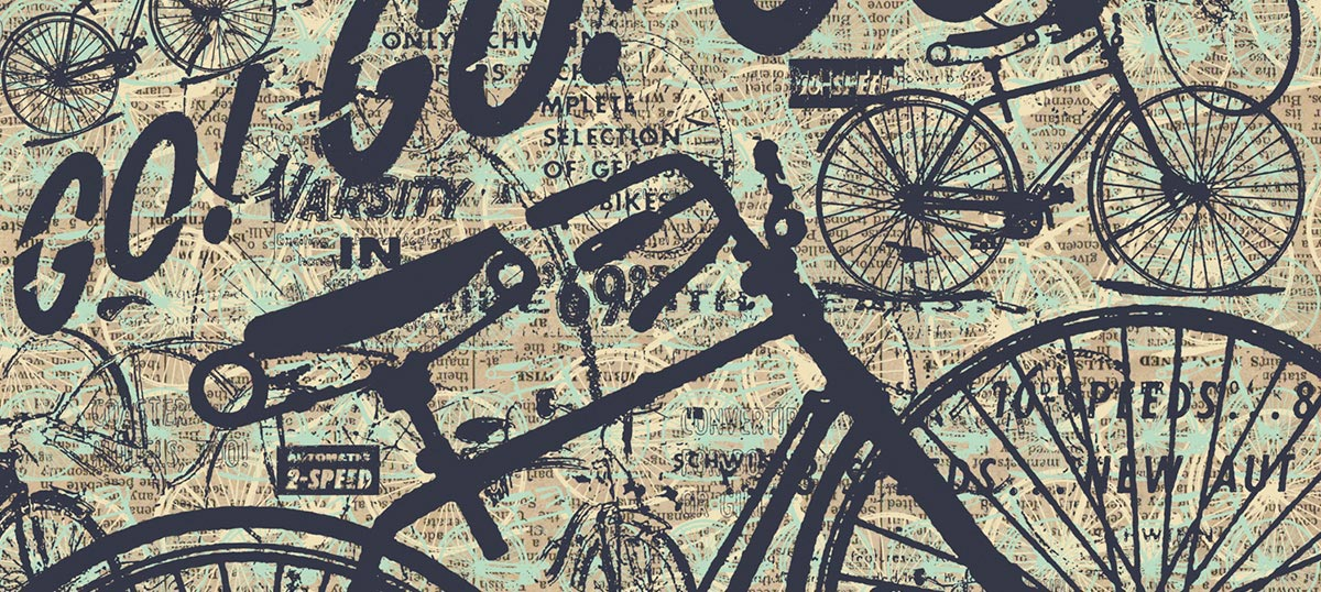 Bicycles Canvas Art
