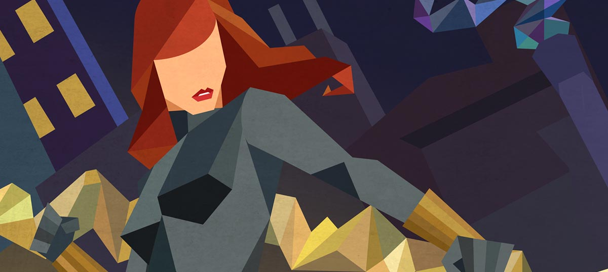 Black Widow Art Prints