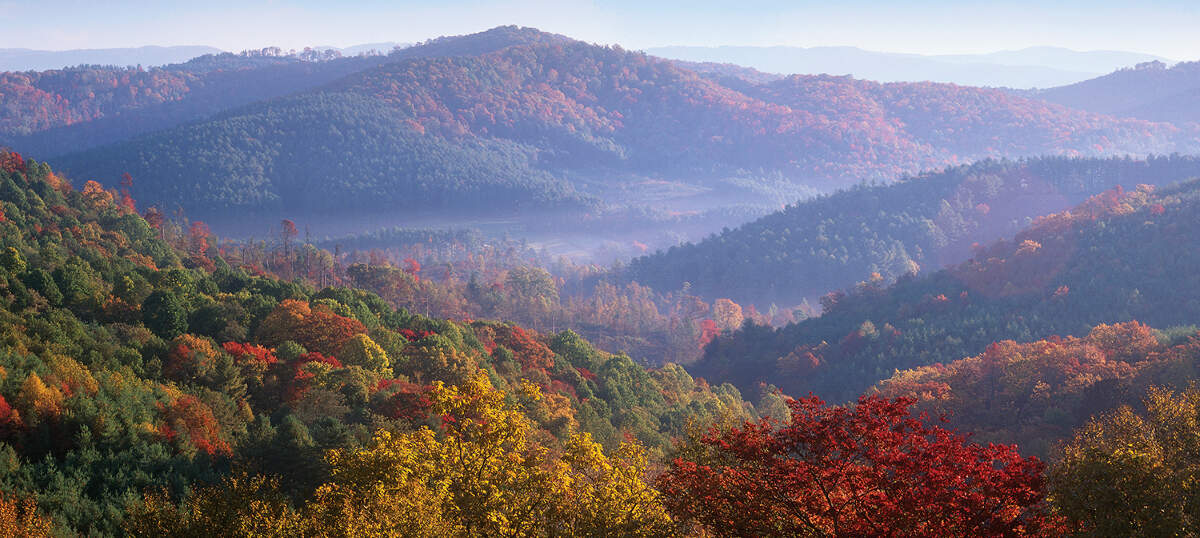Blue Ridge Mountains Canvas Prints