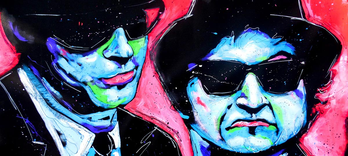 Blues Brothers Canvas Art