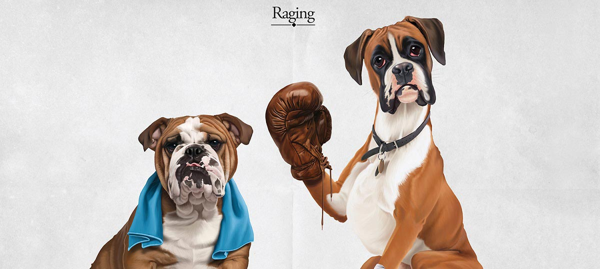 Boxers Canvas Art Prints