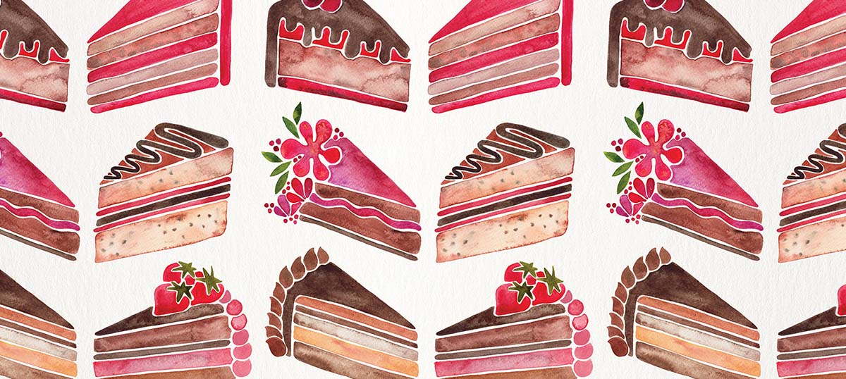 Cakes & Cupcakes Canvas Art