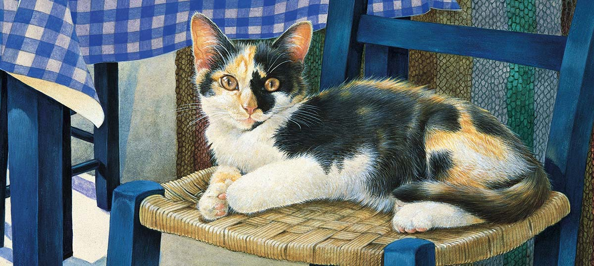 Calico Cats Canvas Art